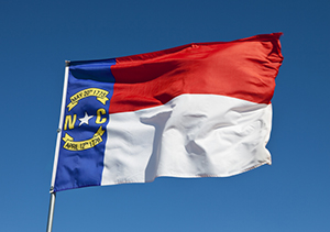 North Carolina - State Flag